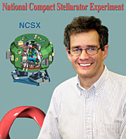 PPPL physicist Hutch Neilson, Project Head of NCSX.