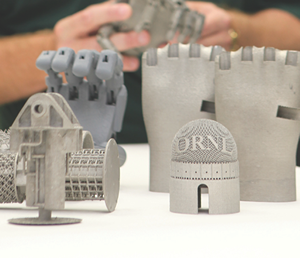 ORNL is opening its doors to companies interested in using 3-D printing for products ranging from heavy equipment to biomedical implants. Photo: Jason Richards