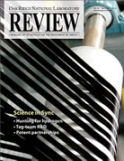 ORNL Review Cover