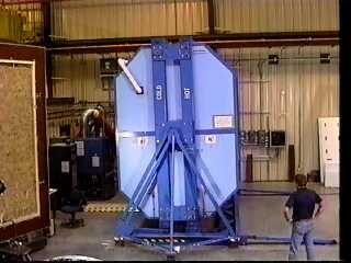Rotatable guarded hot box (ASTM C 0236)- ORNL